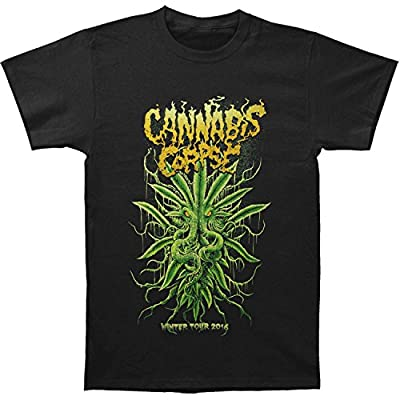 Cannabis Corpse Men's Cthulhu T-shirt Black