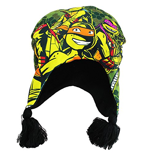 Teenage Mutant Ninja Turtle Peruvian Beanie Winter Hat Size 4-7 (Guantes De Football compare prices)