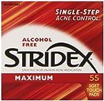 Stridex Triple Action Acne Pads 55-Count