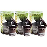 Ekobrew Refillable K-Cup For Keurig K-Cup Brewers, 3-Count