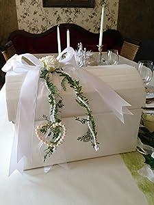 Wedding Gift Ideas Amazon Uk : Gift Card Money Mail Box Heart Centerpiece Roses Wedding Communion ...