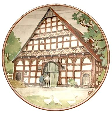 c1985 Konigszelt Bayern Westfalenhaus aus Delbruck Karl Bedal German Half Timbered Houses plate TN177