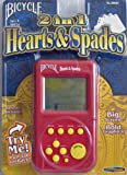 Bicycle 2 in 1 Hearts & Spades Hand Held Electronic Game
