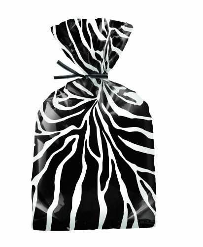Wilton Zebra Treat Bags, 20 Count