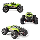 Vatos RC Car Off Road High Speed 4WD 40km/h 1:24 Scale 50M Remote Control 30mins Playing Time 2.4GHz Electric Vehicle with Rechargeable Battery (Charger Included) (Green)