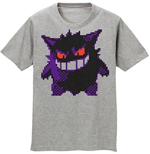 Gengar Ghost Pixels Men's T-shirt Medium