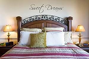Juko Sweet Dreams wall sticker decal bedroom wall art. Green