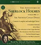 Sir Arthur Conan Doyle The Adventures of Sherlock Holmes: v. 3 (Csa Word Classic)