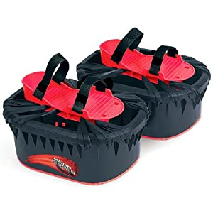 Moon Shoes (Black / Red) By Big Time Toys