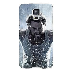 Jugaaduu Wolverine Hugh Jackman Back Cover Case For Samsung Galaxy S5