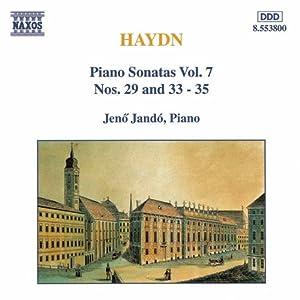 F. J. Haydn: Piano Sonatas, Vol. 7