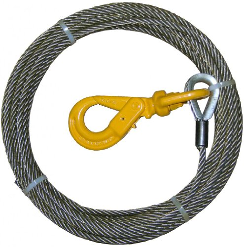 BA Products 4-38PS75LH Winch Cable, 3/8