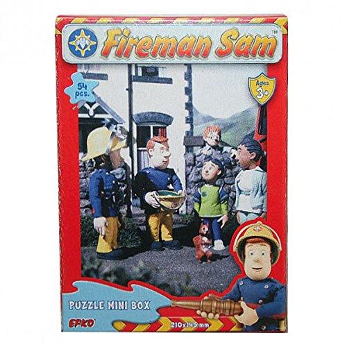 Feuerwehrmann Sam - Mini Puzzle 54 Teile - Motivauswahl, Typ:Puzzle D