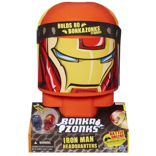 Bonkazonks Marvel Iron Man Headquarters
