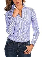 FRENCH CODE Camisa Mujer Ilyes (Azul)