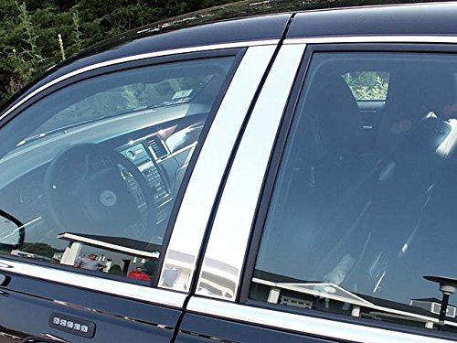 town-car-1998-2011-lincoln-4-pc-stainless-steel-pillar-post-trim-kit-4-door-pp38680qaa