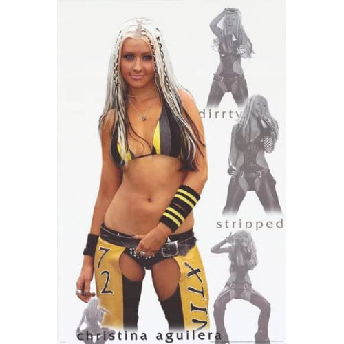 Christina Aguilera - Dirty - Stripped 24x36 Poster