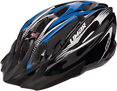Limar Women's Superlight MTB Helmet - Black Blue, Size 57-61