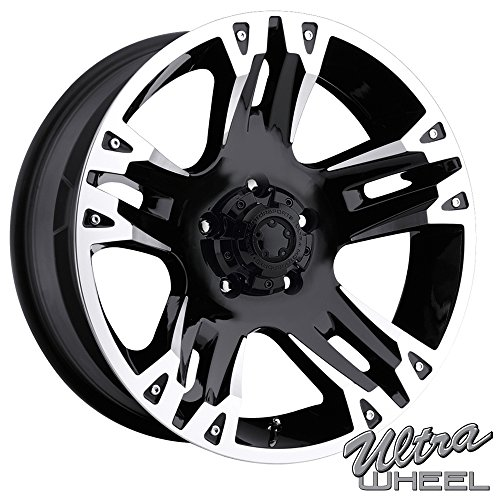 Ultra 235B Maverick 16x8 5x139.7 +10mm Gloss Black Wheel Rim (2001 Dodge Ram 1500 Rims compare prices)