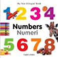 My First Bilingual Book - Numbers (English-Italian)