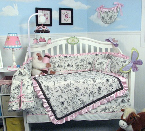 Nursery Bedding For Girls 7802 front
