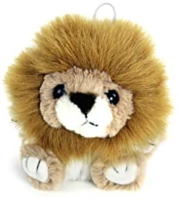 "Purr-Fection Leon Cushy Critter Lion 5"" Plush"