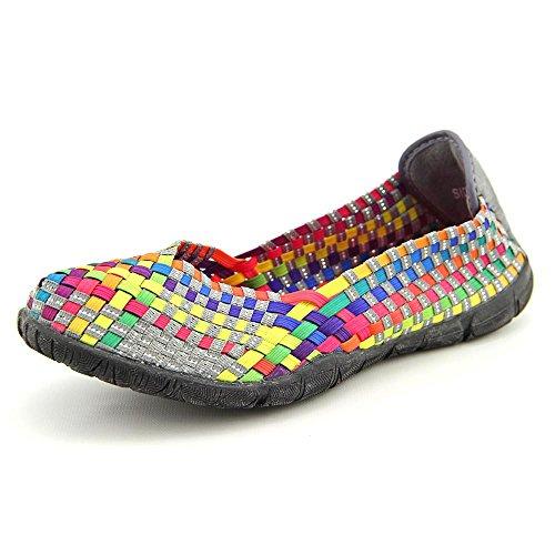 Corkys Womens Sidewalk Slip on Flat Shoe