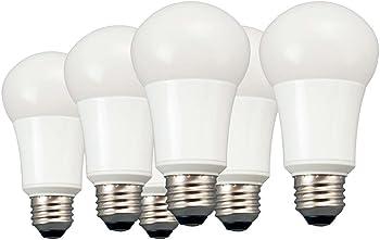 6-Pack TCP 60W A19 LED Light Bulb