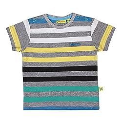 Buzzy Baby-Boys' Cotton T-Shirt (Yellow,6-9M)