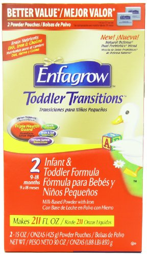 Enfagrow Toddler Transitions, Milk Drink, Value Box, 30 Ounce