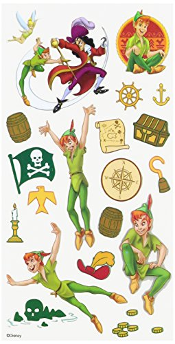 Disney Peter Pan Sticker (Peter Pan Scrapbook Paper compare prices)