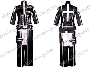D.Gray Man Lavi Rabi Cosplay Costume Uniform (Male S)