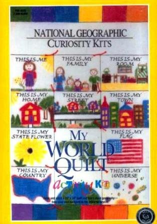 National Geographic Curiosity Kits : My World Quilt