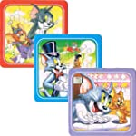 "3er Puzzle Set "" Tom & Jerry """