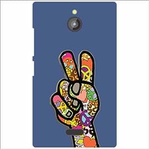 Nokia X2 Back Cover - Raise Hand Designer Cases