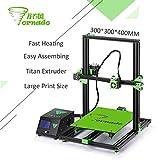 2017 New arrival TEVO Tornado 3D Printer Fully Assembled Aluminium Extrusion 3D printer part Impresora 3d High Precision With Titan Extruder