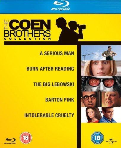 The Coen Brothers Blu-ray Collection (A Serious Man / The Big Lebowski / Barton Fink / Burn After Reading / Intolerable Cruelty)