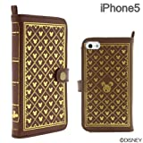 Disney Character Old Book Case for iPhone 5 (Monogram)