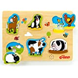 Tidlo Wooden Farm Sound Puzzle