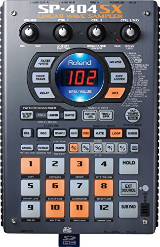 Brand New Roland Sp-404sx Sampler with Dsp Effects.
