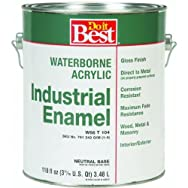 -W66T00104-16Do it Best Waterborne Industrial Enamel-GLS NEUTRAL BS LTX PAINT