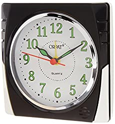 Orpat Beep Alarm Clock (Black, TBB-357)