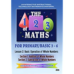 The 123 of Maths : Les. 2 Basic Operation of Whole Numbers 1 & 2