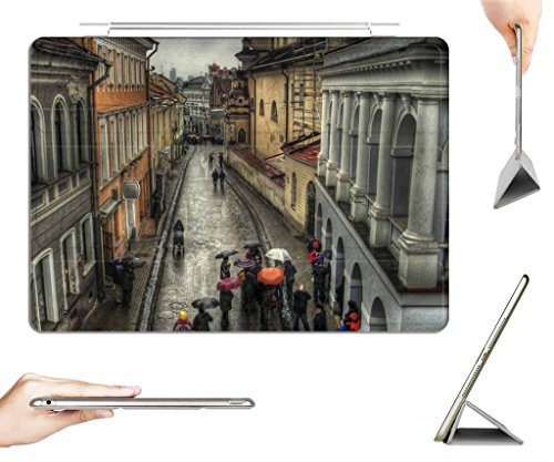 irocket-ipad-air-case-transparent-back-cover-rain-on-street-in-old-vienna-austria-hdr-auto-wake-slee