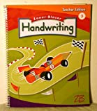 img - for zaner Bloser Handwriting 3 Teacher edition book / textbook / text book