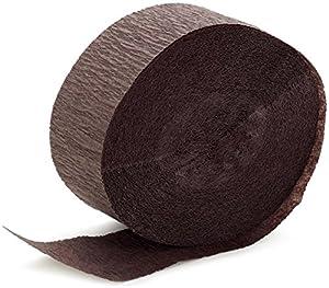 Brown Crepe Paper (1 roll)