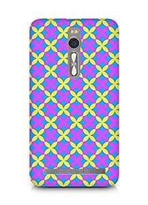 Amez designer printed 3d premium high quality back case cover for Asus Zenfone 2 (Texture5)