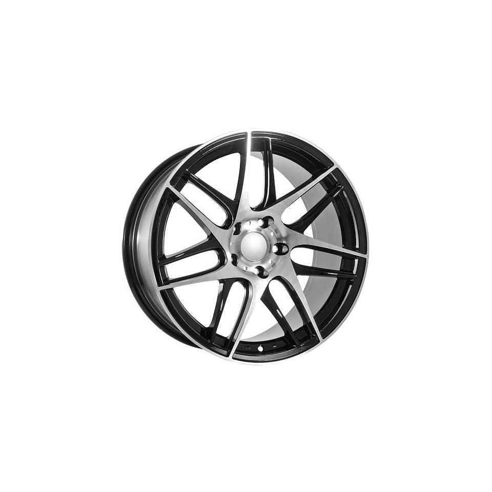 19 Inch BMW Black Wheels Rims BBS Replica Style Automotive