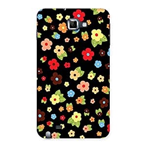 Multicolor in Black Back Case Cover for Galaxy Note