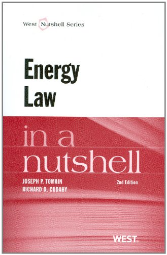Energy Law in a Nutshell, 2d (Nutshell Series)